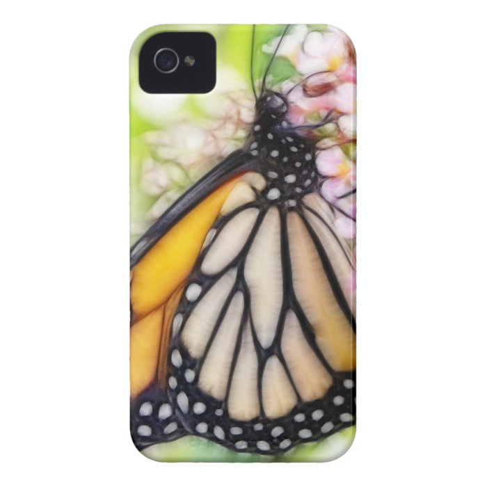 Monarch Butterfly Sipping Nectar Case-Mate iPhone 4 Case