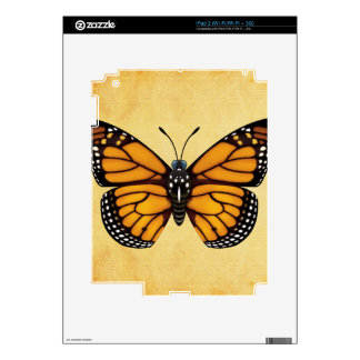 Monarch Butterfly Skins For iPad 2
