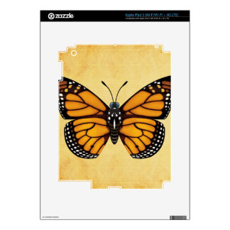 Monarch Butterfly Skins For iPad 3