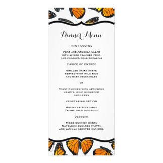 Monarch Butterfly Slim Dinner Menu