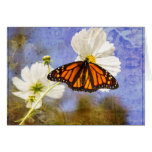 Monarch butterfly stationery note card