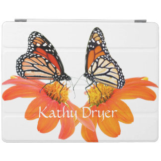 Monarch Butterfly Sunflower Flower Floral Garden iPad Smart Cover