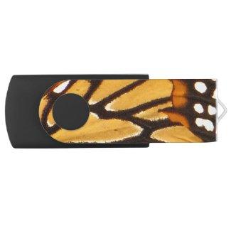 Monarch Butterfly Swivel USB 2.0 Flash Drive