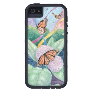 """Monarch Butterfly"" Watercolor Original Art Case. iPhone 5 Cases"