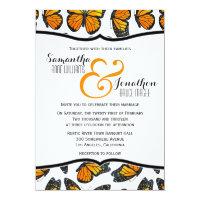 Monarch Butterfly Wedding Invitation (<em>$2.01</em>)