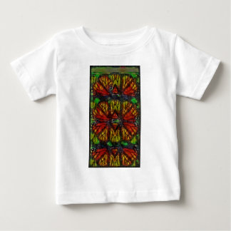 Monarch Butterfly Wing Abstract Baby T-Shirt