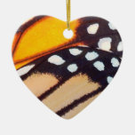 Monarch Butterfly Wing Christmas Tree Ornaments