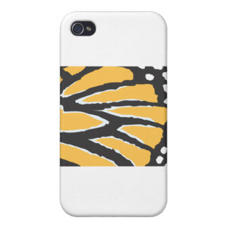 Monarch Butterfly Wing iPhone 4 Case
