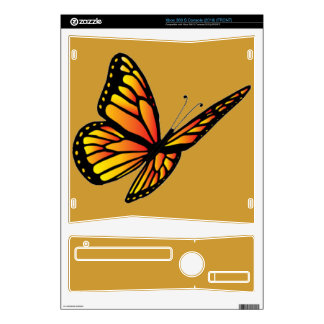 Monarch butterfly Zazzle Skin Decals For Xbox 360 S