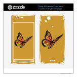 Monarch butterfly Zazzle Skin Xperia Arc Skins