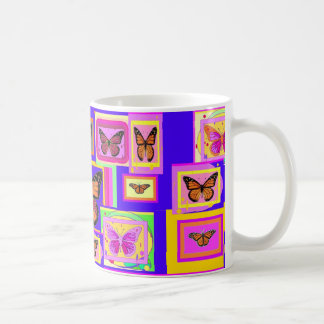 Monarch Buttery ART Gifts by Sharles Classic White Coffee Mug