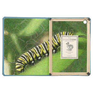 Monarch Caterpillar - Sunset Relaxing iPad Air Covers