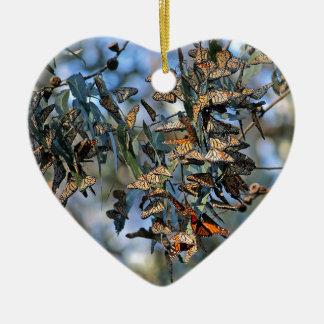 Monarch Cluster Ceramic Ornament
