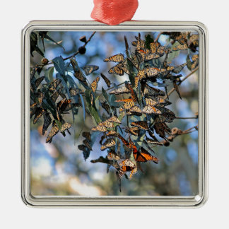 Monarch Cluster Metal Ornament