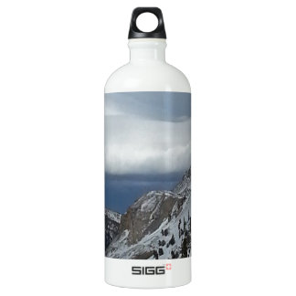 Monarch, CO Rocky Mountains Winter Time Clouds SIGG Traveler 1.0L Water Bottle