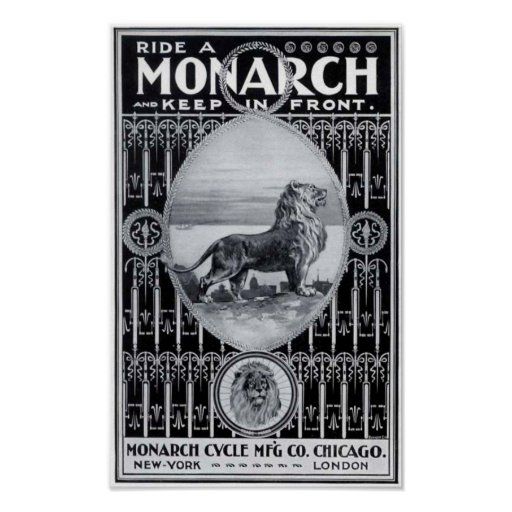 Monarch Cycle Poster