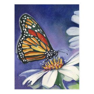 Monarch & Daisies Jbbackus 300 Postcard
