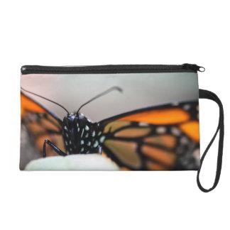 Monarch Danaus Plexippus Wristlet Purses