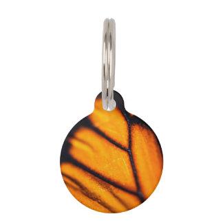 Monarch Danaus Plexippus Pet Name Tag