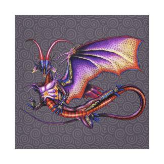 Monarch Dragon Canvas Print