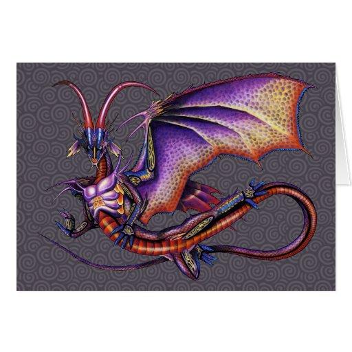 Monarch Dragon Card