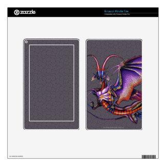Monarch Dragon Kindle Fire Skin