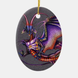 Monarch Dragon Ornament Oval
