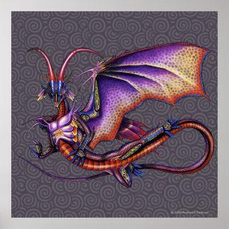 Monarch Dragon Poster