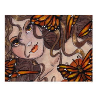 """Monarch Fairy"" postcard"