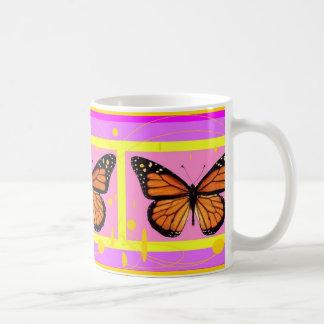 Monarch Girly Pink Design by Sharles Coffee Mug