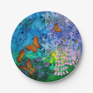 Monarch Haven Paper Plate 7 Inch Paper Plate