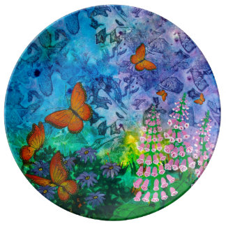 Monarch Haven Plate