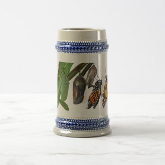 MONARCH LIFE CYCLE BEER STEIN