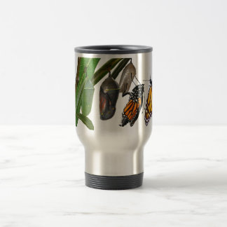 MONARCH LIFE CYCLE TRAVEL MUG