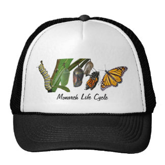 MONARCH LIFE CYCLE TRUCKER HAT