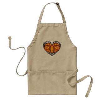 Monarch Love Adult Apron