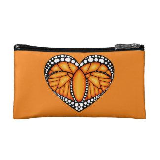 Monarch Love Cosmetic Bag