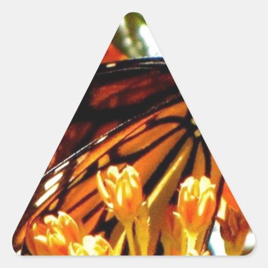 Monarch Madness.jpg Triangle Sticker