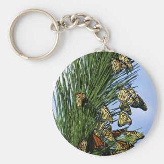 Monarch migration key chain