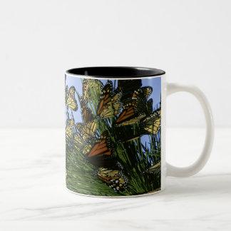 Monarch migration mug