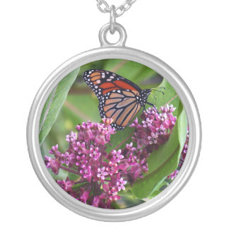 Monarch Necklase Silver Plated Necklace