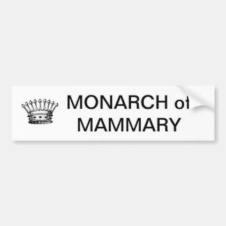 MONARCH of MAMMRY Bumper Sticker