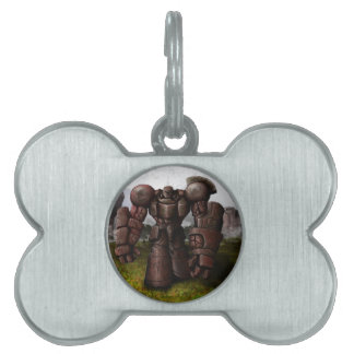 Monarch of the Earth Pet ID Tag