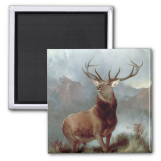 Monarch of the Glen, 1851 2 Inch Square Magnet