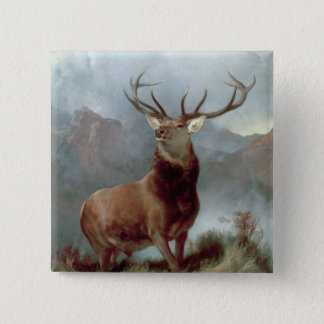 Monarch of the Glen, 1851 Button