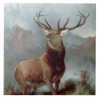 Monarch of the Glen, 1851 Ceramic Tile