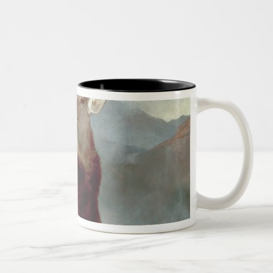 Monarch of the Glen, 1851 Two-Tone Coffee Mug