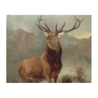 Monarch of the Glen, 1851 Wood Wall Art