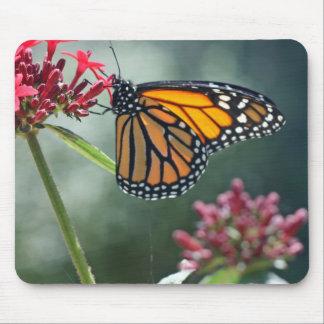 Monarch on a Flower Mousepad