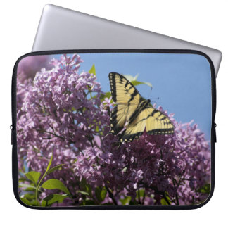 Monarch on Butterfly Bush Laptop Sleeve